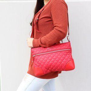 Quilte Crosby Crossboddy Bag Apple Red